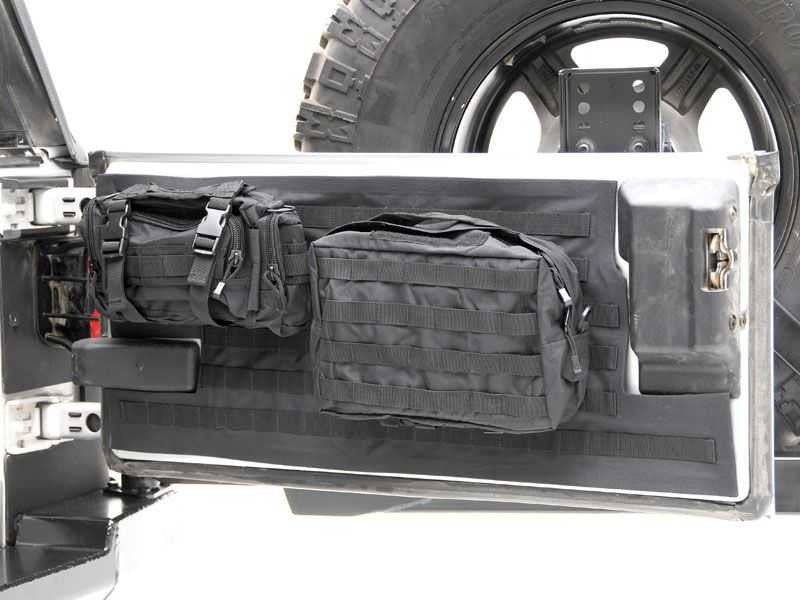 Smittybilt G E A R Tailgate Cover In Black For 07 16 Jeep