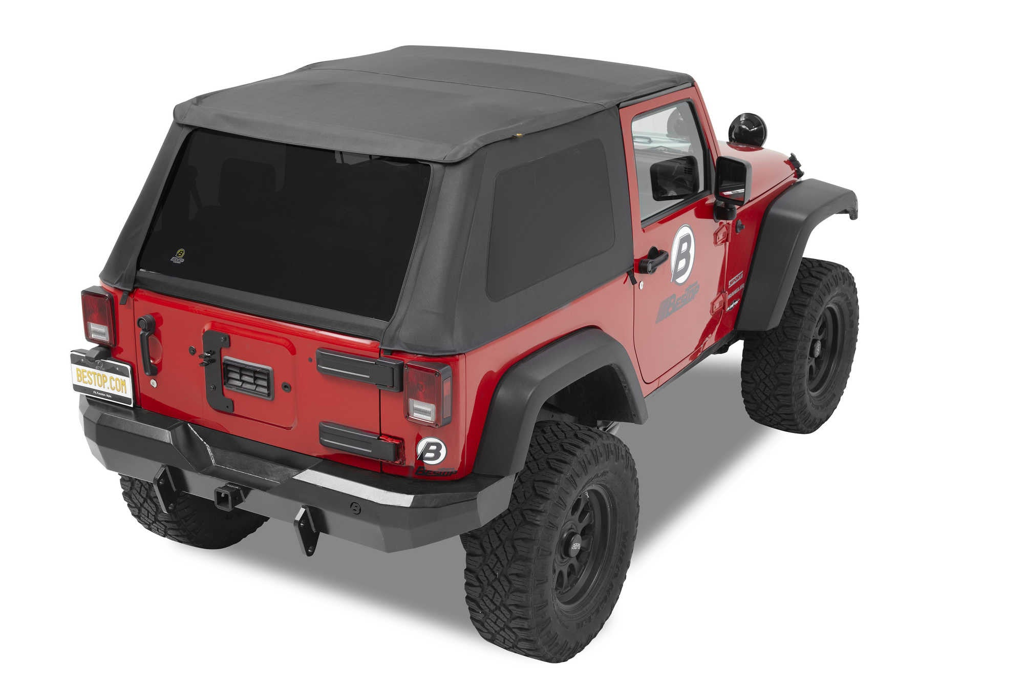 Bestop Trektop NX in Black Diamond for 07-16 Jeep Wrangler JK 2 Door ...  sc 1 st  Black Dog Offroad & Bestop Trektop NX in Black Diamond for 07-17 Jeep Wrangler JK 2 Door ...