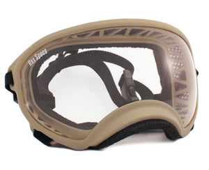 Rex Specs Dog Goggles Large - Coyote - Black Dog Offroad