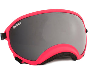 Rex Specs Dog Goggles Large - Neon Pink - Black Dog Offroad