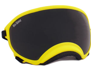 Rex Specs Dog Goggles Large - Yellow - Black Dog Offroad
