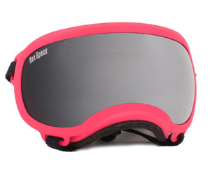 Rex Specs Dog Goggles X-Small - Neon Pink - Black Dog Offroad