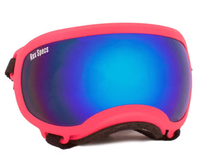 Rex Specs Dog Goggles Small - Neon Pink - Black Dog Offroad