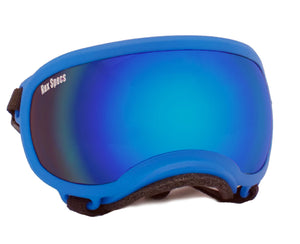 Rex Specs Dog Goggles X-Small - Blue - Black Dog Offroad