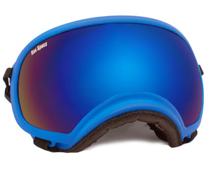 Rex Specs Dog Goggles X-Large - Blue - Black Dog Offroad