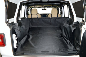 Dirtydog 4X4 Cargo Liner for Jeep Wrangler Unlimited 4 Door JL - Black Dog Offroad