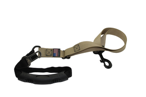 BDO Adventure Leash with Seatbelt Clip - Black Dog Offroad