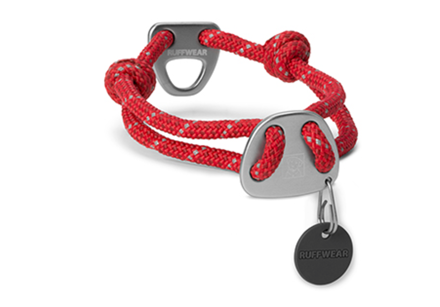 Knot-a-Collar - Red Currant - Black Dog Offroad