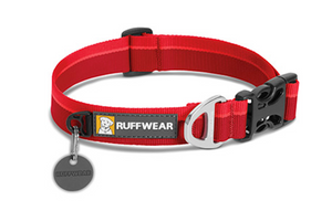 Hoopie Collar - Red Currant - Black Dog Offroad