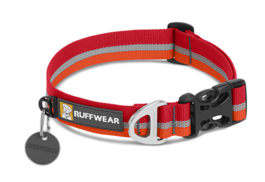 Crag Collar - Kokanee Red - Black Dog Offroad