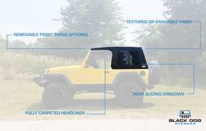 Black Dog Offroad TJ 2 Door Hardtop - Black Dog Offroad