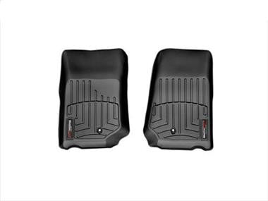 WeatherTech Digital Fit Front FloorLiner for 07-13 Jeep Wrangler & Wrangler Unlimited JK - Black Dog Offroad