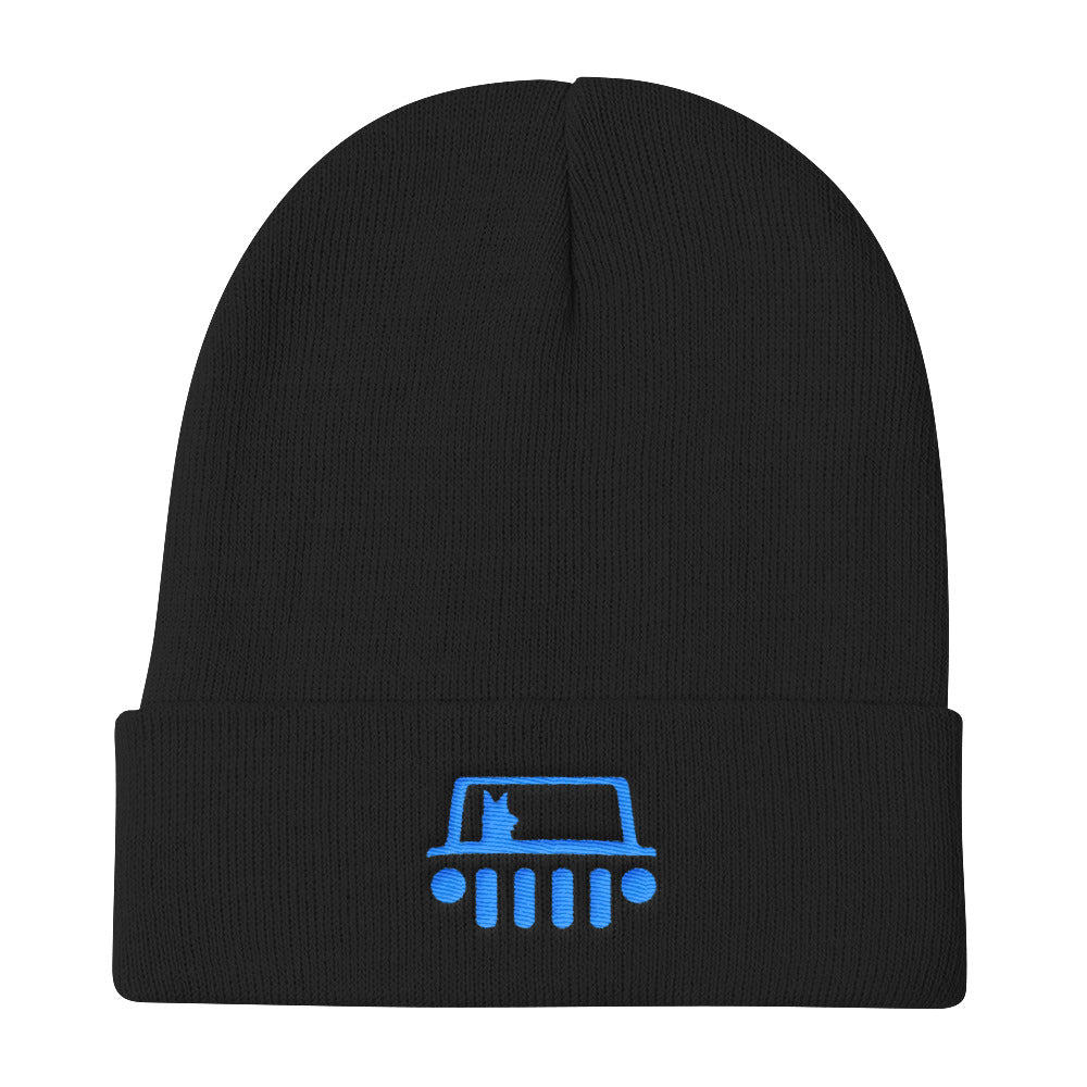 a0f9d73dd794b Black Dog Offroad Knit Beanie - Black Dog Offroad
