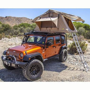 Smittybilt Overlander Tent for 07-18 Jeep Wrangler & Wrangler Unlimited JK - Black Dog Offroad
