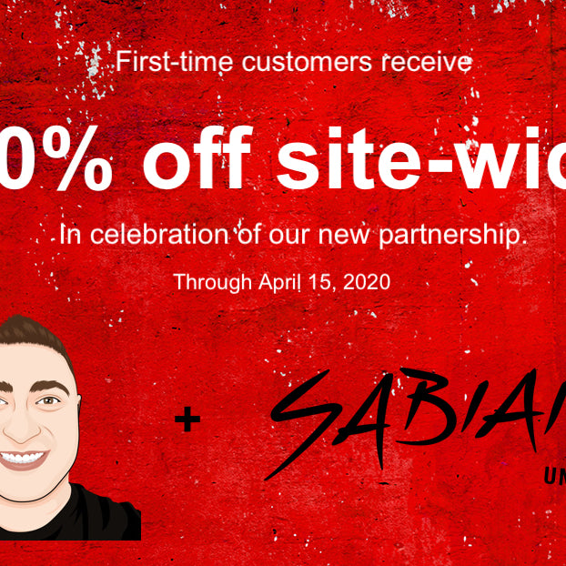 That Drum Guy forms new partnership with SABIAN, GON BOPS