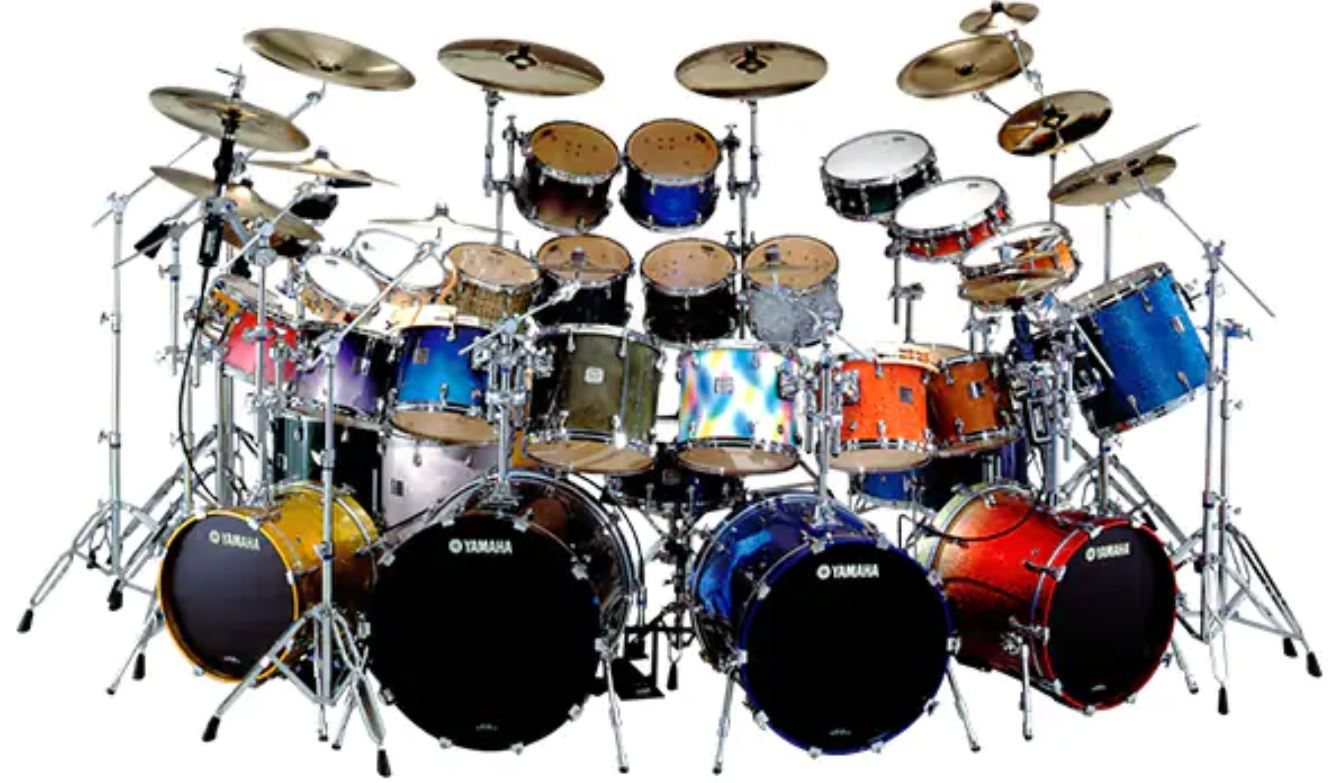Yamaha Absolute Drums Color Lineup 2000's
