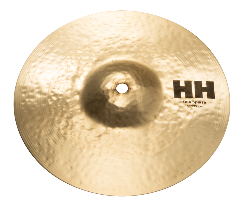 "10"" SABIAN HH Duo Splash Brilliant Finish"