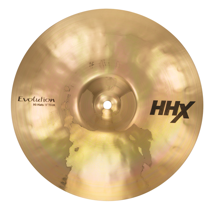 "13"" SABIAN HHX Evolution Hi-Hats Brilliant Finish"