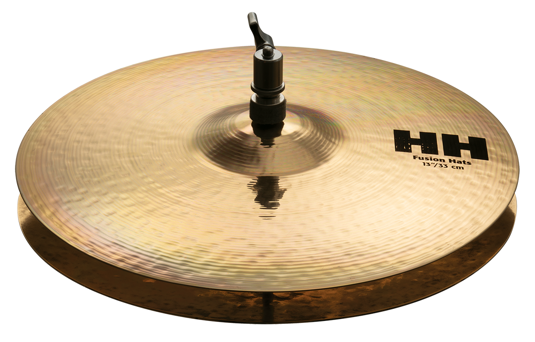 "13"" SABIAN HH Fusion Hi-Hats Brilliant Finish"