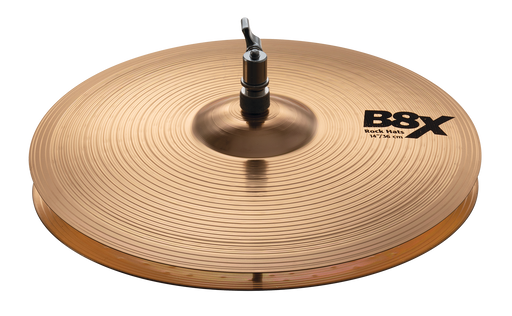 "14"" SABIAN B8X Rock Hats"