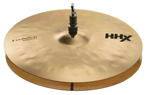 "14"" SABIAN HHX Evolution Hi-Hats Brilliant Finish"