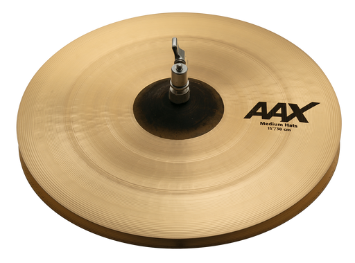 "15"" SABIAN AAX Medium Hats"