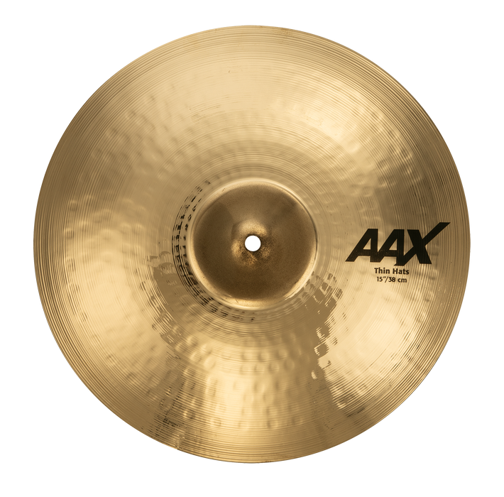 "15"" SABIAN AAX Thin Hats Brilliant"