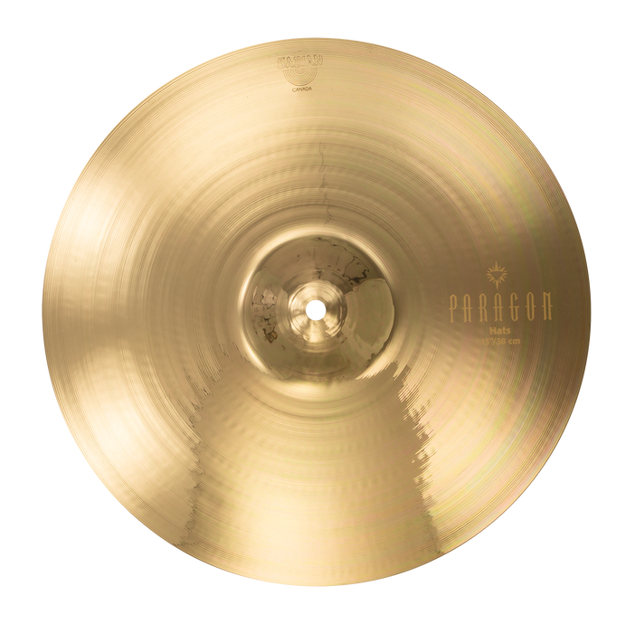 "15"" SABIAN Paragon Hats Brilliant Finish"