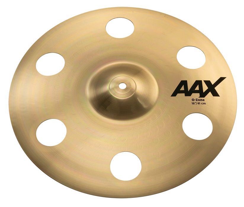 "16"" SABIAN AAX O-Zone Crash Brilliant Finish"