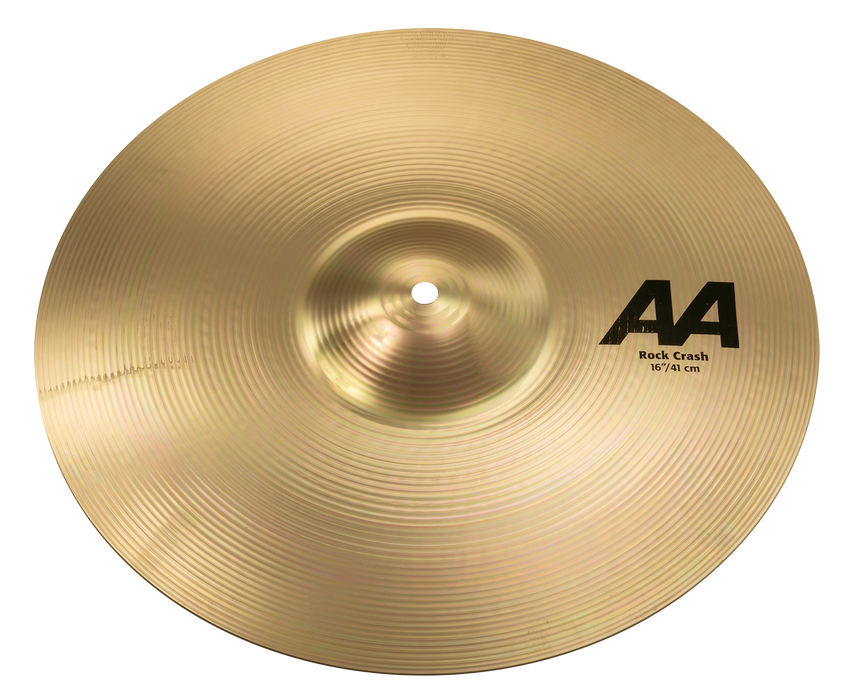 "16"" SABIAN AA Rock Crash Brilliant Finish"
