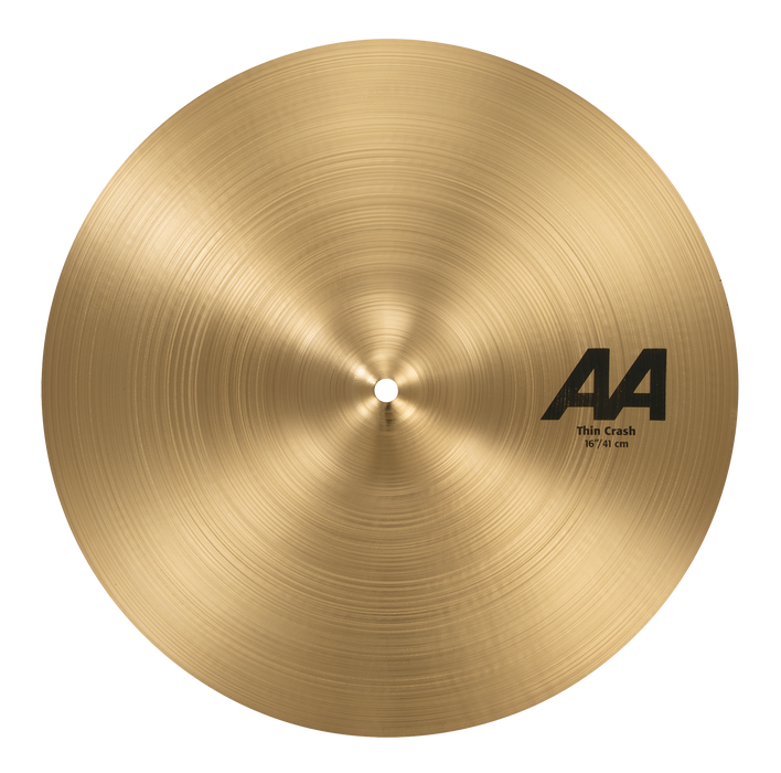 "16"" SABIAN AA Thin Crash"