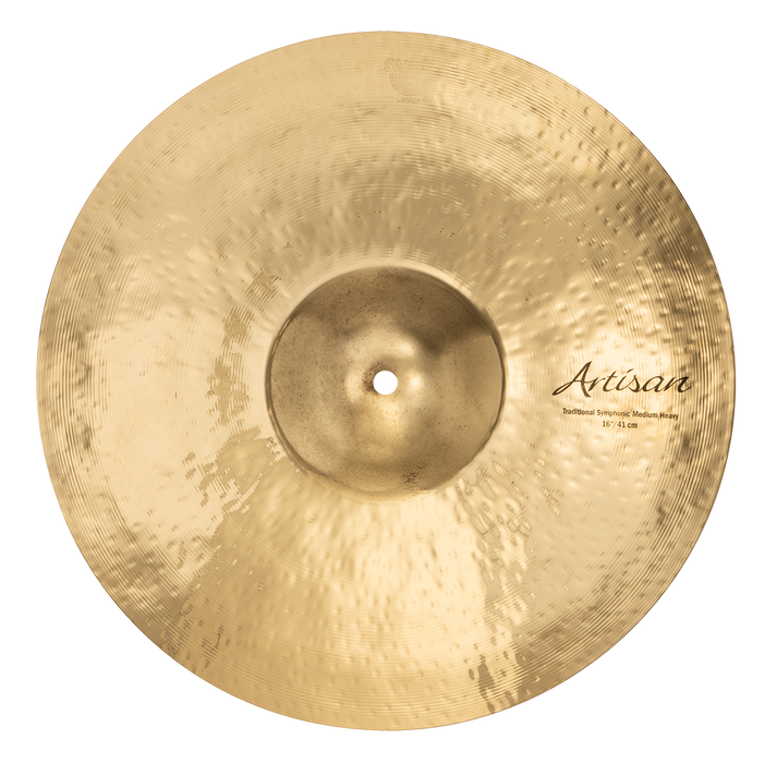 "16"" SABIAN Artisan Traditional Symphonic Medium Heavy Brilliant Finish"