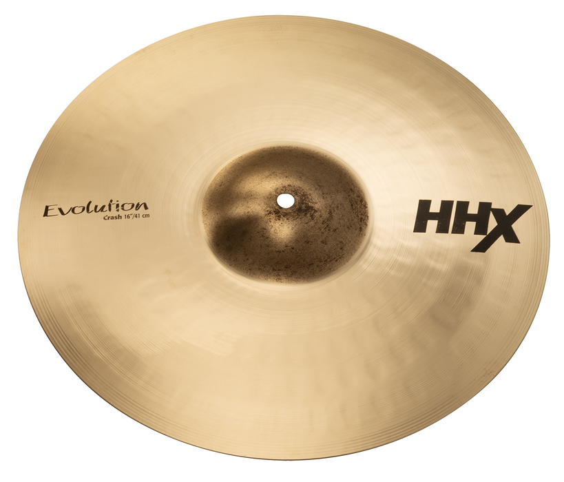 "16"" SABIAN HHX Evolution Crash Brilliant Finish"