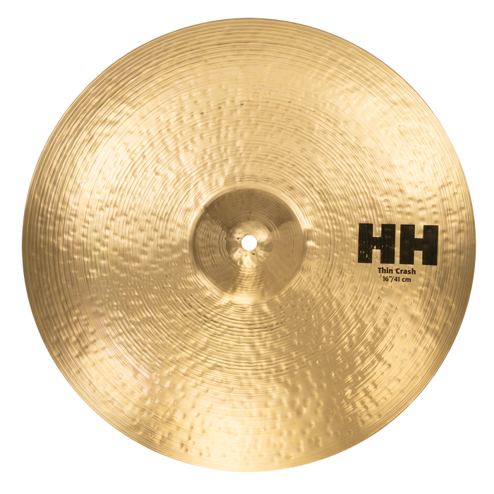 "16"" SABIAN HH Thin Crash Brilliant Finish"