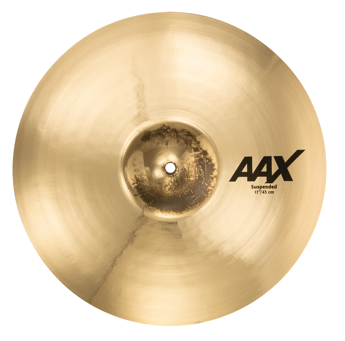 "17"" SABIAN AAX Suspended Brilliant Finish"