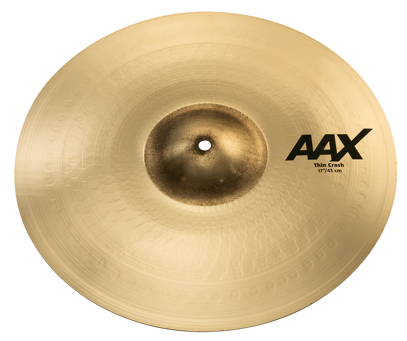 "17"" SABIAN AAX Thin Crash Brilliant Finish"
