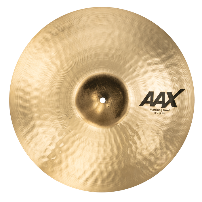 "18"" SABIAN AAX Marching Band  Brilliant Finish"
