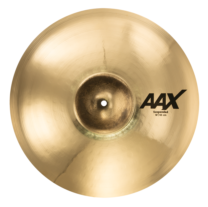 "18"" SABIAN AAX Suspended Brilliant Finish"