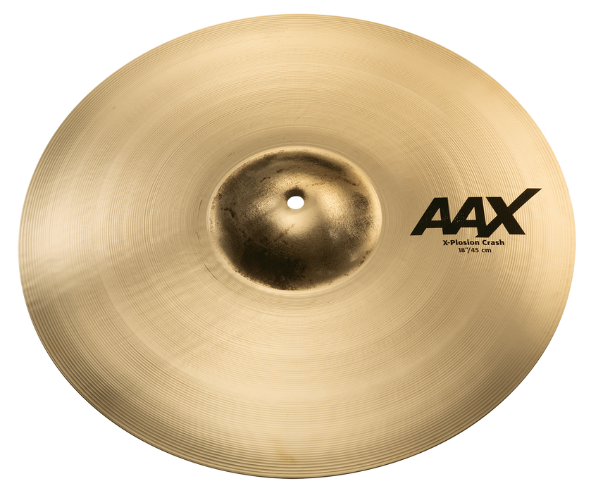 "18"" SABIAN AAX X-Plosion Crash Brilliant Finish"