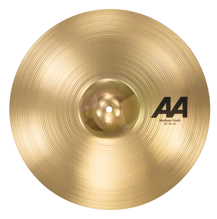"18"" SABIAN AA Medium Crash Brilliant Finish"