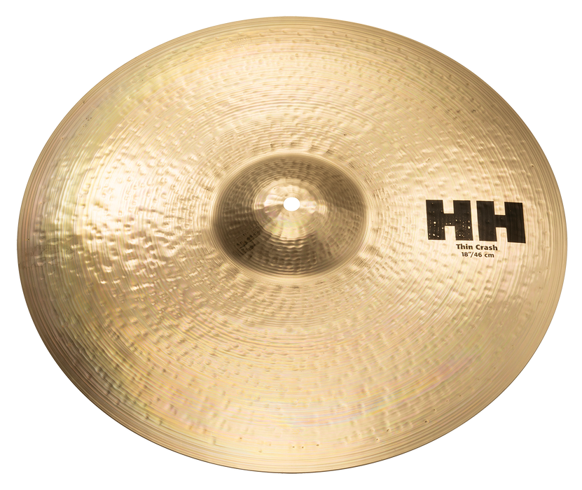 "18"" SABIAN HH Thin Crash Brilliant Finish"
