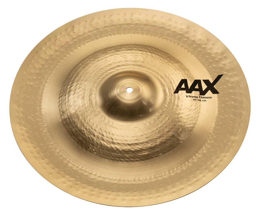 "19"" SABIAN AAX X-Treme Chinese Brilliant Finish"