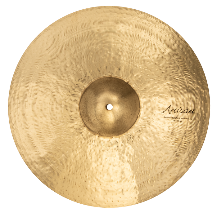 "19"" SABIAN Artisan Traditional Symphonic Medium Heavy Brilliant Finish"