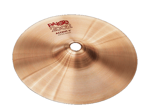 "6"" Paiste 2002 ACCENT CYMBAL"