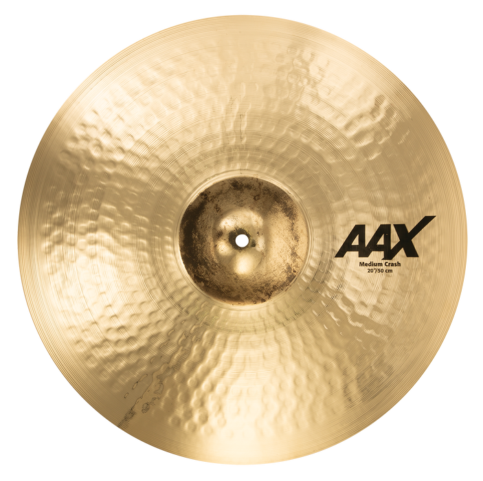 "20"" SABIAN AAX Medium Crash Brilliant Finish"