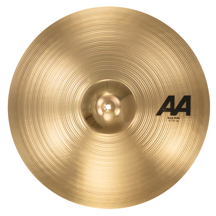 "21"" SABIAN AA Rock Ride Brilliant Finish"