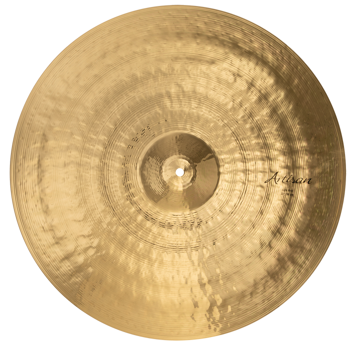 "22"" SABIAN Artisan Light Ride Brilliant Finish"