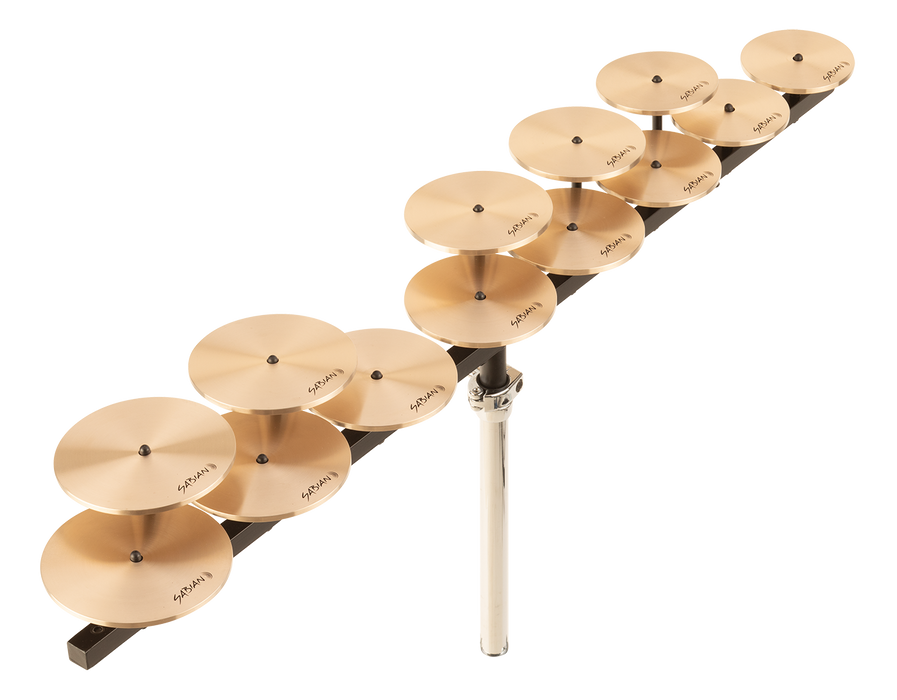 SABIAN Low Crotale Set (13) With Bar