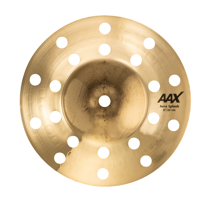 "8"" SABIAN AAX Aero Splash Brilliant"