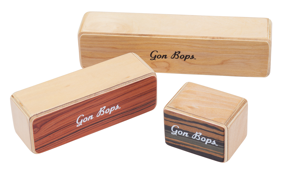 Gon Bops Fiesta Wood Shakers 3-Pack